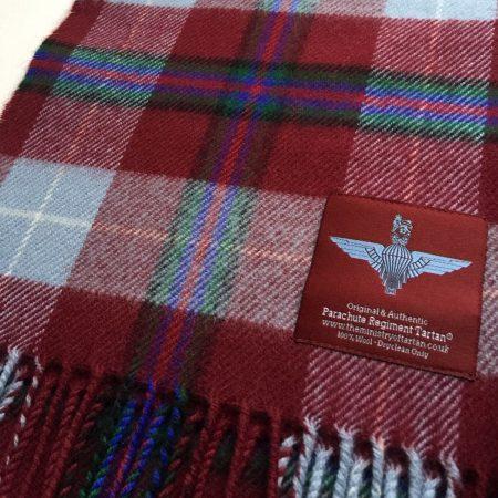 Parachute Regiment Tartan Range